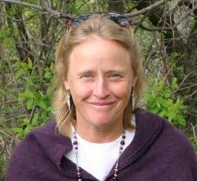 Atina Diffley, author of Turn Here Sweet Corn: Organic Farming Works