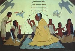 Talking_History: (Lakota storyteller. From http://www.nps.gov/wica/Cave_Exploration/Blowing_Hole.htm Category:Lakota Category:Storytelling {{PD-USGov}})